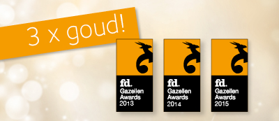 DynaGroup wins the Golden FD Gazellen Award three times in a row!